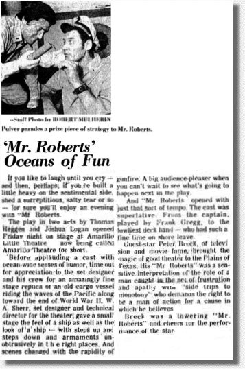 "review of ""Mr. Roberts"""